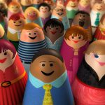 Cartoon Characters, Peeples, Crowd, iSpot Stock, by Lonnie Busch, Franklin, North Carolina