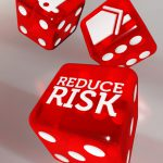 Editorial Illustration, Dice, Reduce Risk, Home Auto, Auto Club Magazine, AAA_Westways, 3D, Cinema 4D, by Lonnie Busch, Franklin, North Carolina