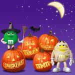 Cartoon Characters, Jack-O-Lanterns, M&M Characters, Dreyer's Ice Cream, by Lonnie Busch, Franklin, North Carolina