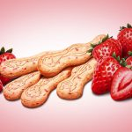 Food Illustration, Enfagrow Strawberry Cookies, Gerber, by Lonnie Busch, Franklin, North Carolina
