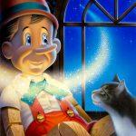 Cartoon Characters, Pinocchio, Cat, Magic, airbrush, by Lonnie Busch, Franklin, North Carolina