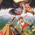 Cartoon Characters, Back Off Buzzard, Game, Milton Bradley, airbrush, by Lonnie Busch, Franklin, North Carolina