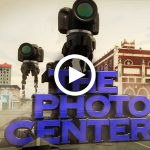 Animation for The Photo Center, video for lead-in for photography tutorials, photo equipment store located in Bricktown, New Jersey, by Lonnie Busch, Franklin, North Carolina