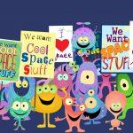 Cartoon Characters, Alien Cartoons, Animation Still, Explainer Video, Datafeedr, by Lonnie Busch, Franklin, North Carolina