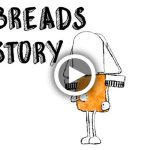 Animation, Motion Graphics, for Cosi Restaurant called Famous Flatbreads Through History, cartoon characters, located in Boston, Massachusetts, animation by Lonnie Busch, Franklin, NC