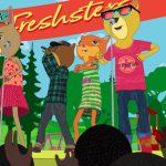 Cartoon Characters, 2D Cartoon Characters, Freshsters, Crowd, Animation Still, Joe Fresh Brand, 3D, Cinema 4D, by Lonnie Busch, Franklin, North Carolina